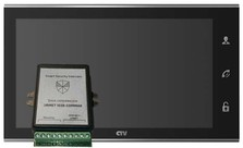 Комплект CTV M4105AHD Smart Security Urmet 1038 Чёрный