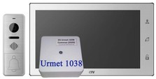 Комплект CTV DP4102FHD DS Urmet 1038 Белый