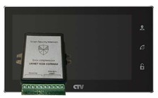 Комплект CTV M4706AHD Smart Security Urmet 1038 Чёрный