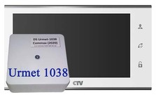Комплект CTV M4707IP DS Urmet 1038 Белый
